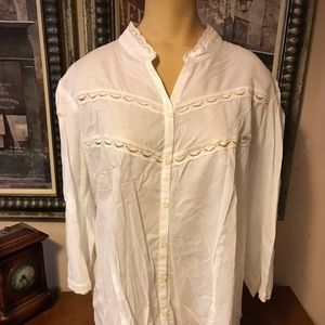 Tops - White new with tag Lane Bryant 22/24